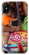 Coney Island Carousel IPhone Case