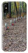 13 Unknown Confederate Soldiers - Natchez Trace IPhone Case