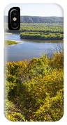 Confluence Of Mississippi And Wisconsin Rivers IPhone Case