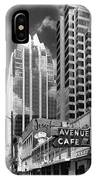 Congress Avenue Vista IPhone Case