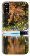 Connect Lake In The Fall IPhone Case