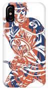 Connor Mcdavid Edmonton Oilers Pixel Art 3 IPhone Case