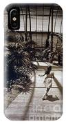 Conservatory, Barcelona 1976 IPhone Case