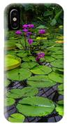 Conservatory Waterlilies IPhone Case