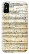 Constitution IPhone Case