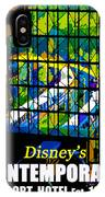 Contemporary Window To The World IPhone Case