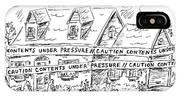 Contents Under Pressure IPhone X Case