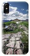 Continental Divide Above Twin Lakes 6 - Weminuche Wilderness IPhone Case