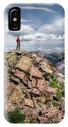 Continental Divide Above Twin Lakes - Weminuche Wilderness IPhone Case
