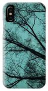 Contrasted Trees IPhone Case