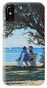 Conversation In The Park IPhone Case