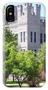 Cook Hall Illinois State Univerisity IPhone Case