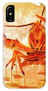 Cooked Lobster On Parchment Paper IPhone Case