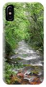 Cool Green Stream IPhone Case