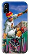 Cool Skater IPhone Case