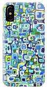 Cool Squares And Shapes IPhone Case