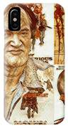 Cool Tarantino Poster IPhone Case