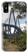 Cooper River Bridge Afternoon IPhone Case
