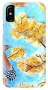 Cooper's In Autumn IPhone Case