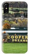 Cooperstown Dreams Park IPhone Case