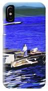 Coos Bay Dockside  IPhone Case
