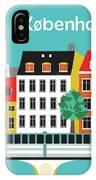 Copenhagen Kobenhavn Denmark Horizontal Scene IPhone Case
