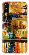 Copenhagen Original Oil Painting  IPhone Case