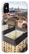 Copenhagen Skyline And Towers IPhone Case