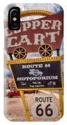 Copper Cart IPhone Case