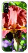Copper Iris Squared 5 IPhone Case