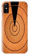 Copper Panel Abstract IPhone Case