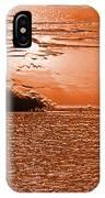 Copper Plate Sunrise IPhone Case