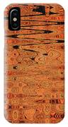 Copper Plates Double Abstract IPhone Case