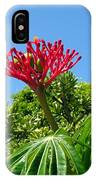 Coral Bush With Flower And Fruit IPhone Case