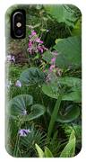 Coral Flower Path IPhone Case
