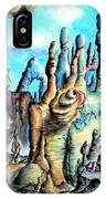 Coral Island, Stone City Of Alien Civilization IPhone Case