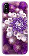 Coraled Blooms IPhone Case