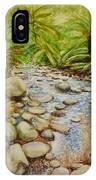 Coranderrk Creek Yarra Ranges IPhone Case