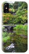 Corbel Arch Bridge Japanese Garden Maymont I IPhone Case