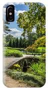 Corbel Arch Bridge Japanese Garden Maymont IPhone Case