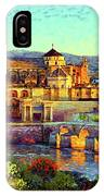 Cordoba Mosque Cathedral Mezquita IPhone Case
