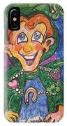 Corey The Lepperchaun Lucky Charms IPhone Case
