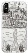 Cork, County Cork, Ireland In 1633 IPhone Case