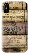 Corks Of French Wine IPhone Case