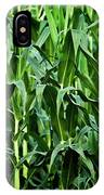 Corn Field's First Row IPhone Case