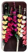 Corn Husk Flowers IPhone Case