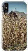 Corn Maze IPhone Case