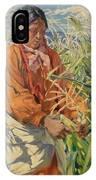 Corn Picker 1915 IPhone Case