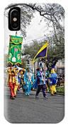 Corner Club 4 - Mardi Gras New Orleans IPhone Case