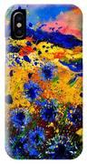 Cornflowers 746 IPhone Case